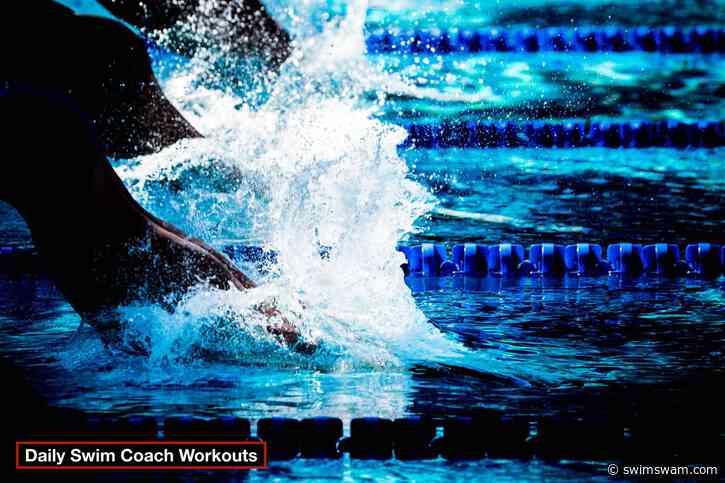 Daily Swim Coach Workout #422