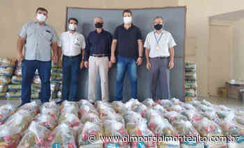 TEBE faz doação de cestas básicas ao Fundo Social de Monte Alto – Jornal O Imparcial - O Imparcial – Monte Alto