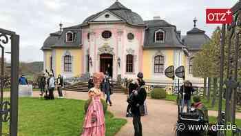 Dornburg: Lustschlösschen wird zum Märchenschloss - Ostthüringer Zeitung