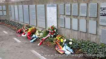 Farbschmierereien an Braunschweiger KZ-Gedenkstätte Schillstraße