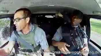 Filmreifer Überfall auf Geldtransporter in Südafrika