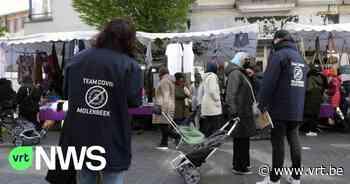 """Vaccins tijdens wekelijkse markt in Sint-Jans-Molenbeek: """"Vaccinatie naar de mensen brengen"""" - VRT NWS"""