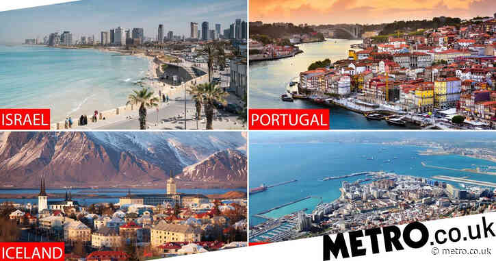 Just four countries on green list will let UK tourists in without quarantining
