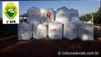 Polícia recupera 36 toneladas de uréia roubadas em Arapoti - Tribuna do Vale