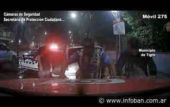 Circulaban en un auto robado y fueron detenidos en Don Torcuato - InfoBan
