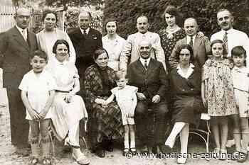 Die Geschichte einer jüdischen Familie aus Sulzburg - Literatur & Vorträge - Badische Zeitung