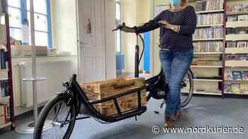 Wo neue Bücher mit dem E-Bike an die Haustür kommen - Nordkurier