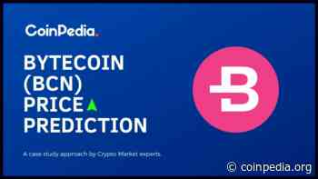 Bytecoin Price Prediction: How High Will BCN Price Rally in 2021? - Coinpedia Fintech News