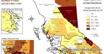 Kamloops local health area records 57 new confirmed cases of COVID-19 - Kamloops This Week