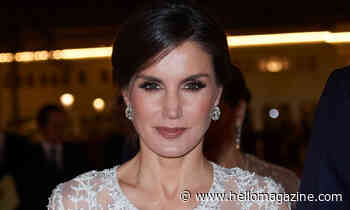 Queen Letizia's elegant blazer dress has a very special meaning behind it