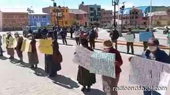 Putina: Pobladores piden intervención ante la invasión de sus terrenos por algunos pobladores de Sandia - Radio Onda Azul