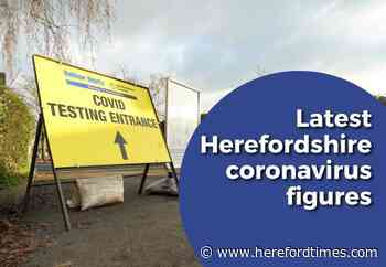 Latest Covid figures for Herefordshire