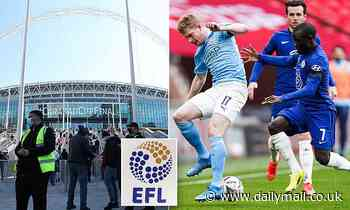 EFL open to moving play-off finals to allow Champions League showpiece to take place at Wembley