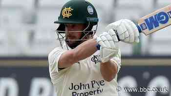 County Championship: Steven Mullaney century keeps Nottinghamshire on top of Essex