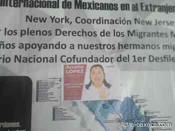 me-consulta.com   Arcelia López Hernández recibe respaldo de migrantes de los Estado Unidos   Periódico Digital de Noticias de Oaxaca   México 2021 - e-oaxaca Periódico Digital de Oaxaca