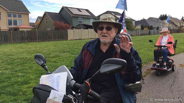 'Born to help people': WWII vet starts scooter fleet to help retirement home residents