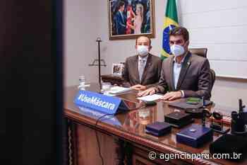 20/04/2021 12h46 Governo do Pará e investidores russos tratam sobre ampliação portuária em Barcarena - Para
