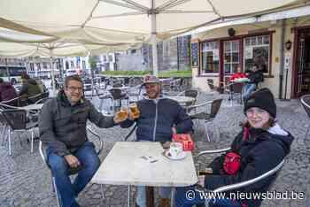 Zeer kalme 'terrasjes-start' in Oudenaarde