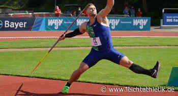 Johannes Vetter lässt es krachen: Alles für Olympia-Gold - Leichtathletik