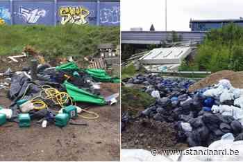 Cannabiskwekers dumpen materiaal in Anderlecht - De Standaard