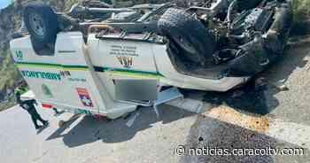 Paciente murió en accidente de ambulancia que la llevaba de urgencia a Medellín - Noticias Caracol