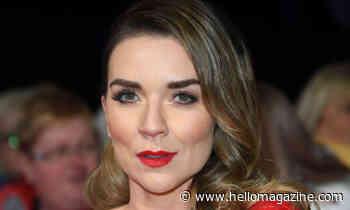 Candice Brown wows in ravishing red Victoria Beckham dress