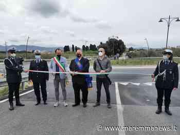 Inaugurata oggi la rotatoria sull'Aurelia vecchia a Follonica - Maremmanews