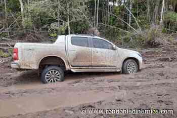 PM de Nova Mamoré recupera caminhonete de Jaru roubada de idosos - Rondônia Dinâmica