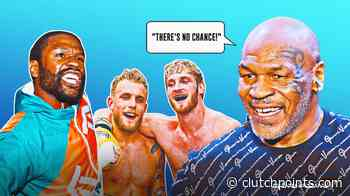 Mike Tyson on Floyd Mayweather beef with Jake Paul, Logan Paul - ClutchPoints