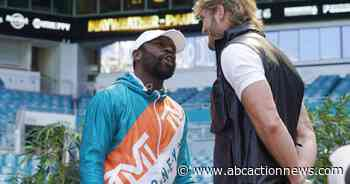 Floyd Mayweather returning June 6 to fight Logan Paul in exhibition - ABC Action News