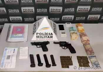 Dois são presos por tráfico de drogas em Governador Valadares; PM apreendeu mais de R$ 18 mil - G1
