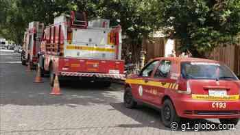 Bombeiros combatem incêndios em dois bairros de Governador Valadares - G1