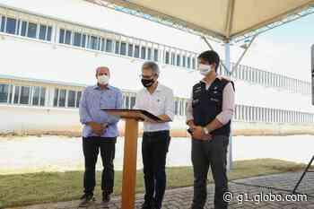 Romeu Zema visita Governador Valadares e anuncia retomada das obras do Hospital Regional - G1