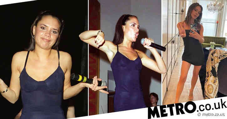 Victoria Beckham serves Posh Spice realness in an updated version of her classic LBD