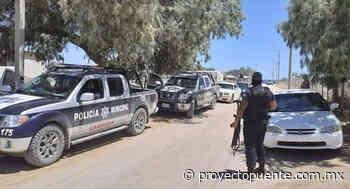 Por inseguridad en Caborca habitantes viajan con vidrios del carro abajo para no ser confundidos por sicarios - Proyecto Puente