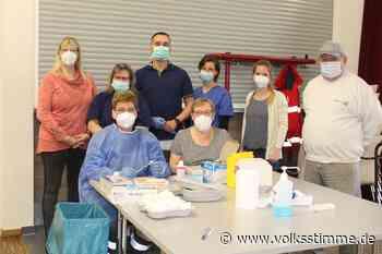 Coronavirus 280 Zweitimpfungen im Drei-Minuten-Takt in Weferlingen · 06.05.2021 13:43 - Volksstimme
