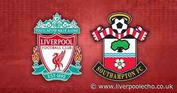Liverpool vs Southampton - LIVE score updates