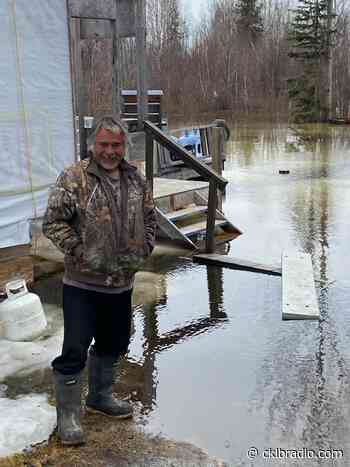 Water levels rising near cabin in Fort Providence area - CKLB News