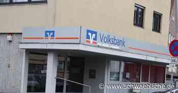 Volksbankfiliale in Aldingen künftig nur noch als SB-Filiale - Schwäbische