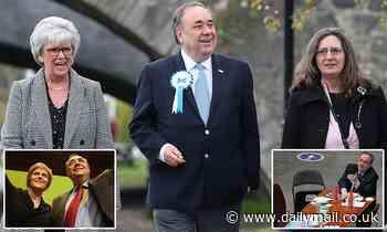 Alex Salmond backs his new Alba party despite picking up zero seats in Scottish vote