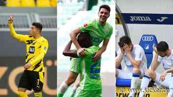 Sancho rettet BVB-Sieg - Brekalo-Show in Wolfsburg - S04 verspielt 2:0