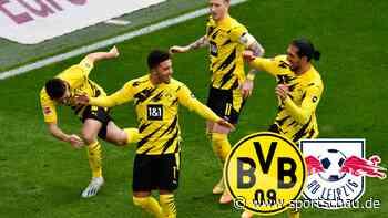 Borussia Dortmund gegen RB Leipzig: 3:2, 32. Spieltag