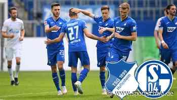 1899 Hoffenheim gegen FC Schalke 04: 4:2 32. Spieltag