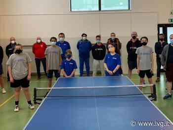 Allenamento a Varazze per le scuole di tennistavolo liguri - IVG.it