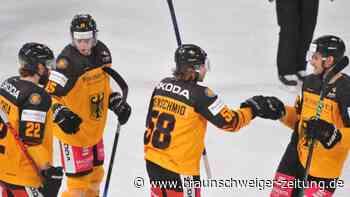Eishockey: DEB-Team gewinnt ersten WM-Test