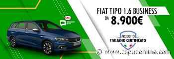 Caserta. Concessionaria Amica – Gruppo Palmesano. Fiat Tipo usato aziendale da 8.900€. - Capuaonline.com