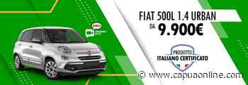 Caserta. Concessionaria Amica – Gruppo Palmesano. Fiat 500 L usato aziendale da 11.500€ - Capuaonline.com