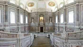 Caserta, completato il restauro delle pareti laterali dello Scalone reale della Reggia - La Repubblica