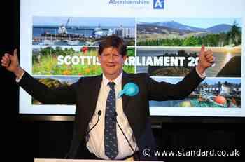 Burnett 'proud' to halt SNP majority hopes as Tories hold Aberdeenshire West