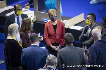 Sturgeon's chances for Holyrood majority wane as SNP falls short in key seats